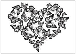 Small Picture Printable Fun Butterfly Coloring Pages for Kids