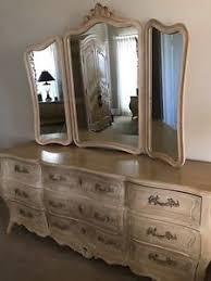 Details about Henredon bedroom furniture - triple dresser