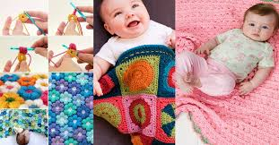 Free Baby Crochet Patterns For Beginners Gorgeous 48 Free Baby Blanket Crochet Patterns Cute DIY Projects
