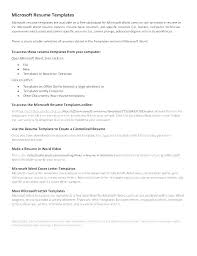 Microsoft Office 2010 Resume Templates Download Download Cover Letter For Resume In Word Format Ms Template
