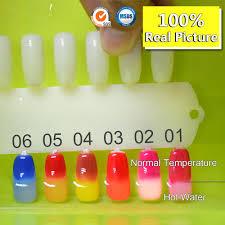 50801x nail art canni 24 colors oem 7 3ml soak off uv led chameleon themral