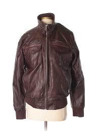 pin it black rivet women faux leather jacket size s