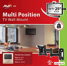 avf multi position tv wall mount instructions design ideas