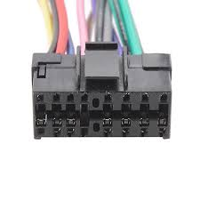 16pin iso wiring harness connector cable adapter for sony car 16pin iso wiring harness connector cable adapter for sony car radio stereo ma716 6