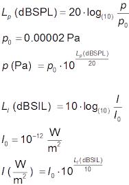 Spl Sound Level To Db Pressure Level Sound Pressure Sound