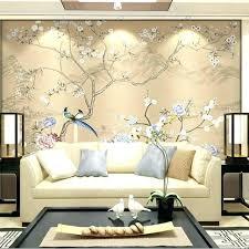 3d wallpaper for living room uk flower birds wall mural bedroom decor