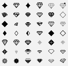 Diamond Icons On Thenounproject граф татуировки алмаз