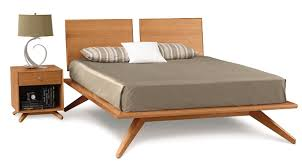 Astrid California King Wood Platform Bed