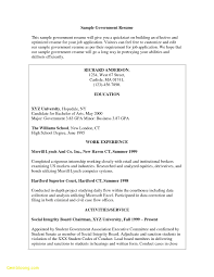 Usajobs Resume Sample Usajobs Resume Sample Download Government Resumes Examples Examples 58