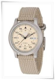 the best 8 casual canvas nylon watches for men under 100 seiko men s snk803 seiko 5 automatic watch beige canvas strap
