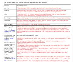 Comfortable Project Overview Statement Template Photos Example