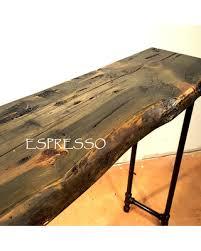 A Long Sofa Table Dark Wood Console Entry Hall Farmhouse