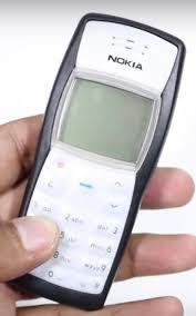 nokia brick. nokia 1100 brick phone