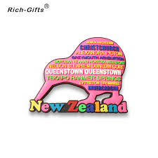 oem odm customized promotional gifts with your logo decoration magneto fridge magnets souvenir new zealand
