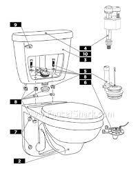 1 28gpf 4 8lpf toilet parts