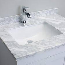 marble bathroom vanity. Eviva Loon White Bathroom Vanity Italian Carrera Marble Top 30