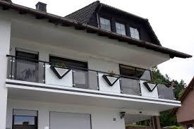 Rieb Balkone Alu Glas Trespa Lochblech