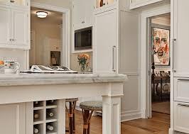 kitchen built in wine rack amazing kitchen with creamy white kitchen cabinets amp kitchen island