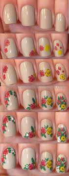 17 Fantastic Nail Art Designs | Flower nail art, Flower nails and ...