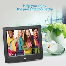 8 034 hd lcd digital photo picture frame