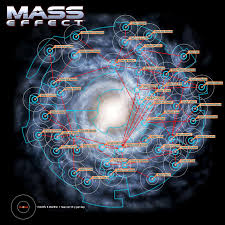 Mass Effect Star Chart Mass Effect Novels Coming Will Link Andromeda To The Rest