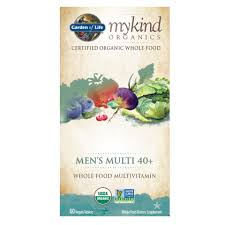 mykind Organics <b>Men's Multi 40</b>+ | Garden of Life