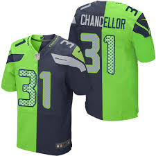 Youth Green Seahawks Jersey Lime