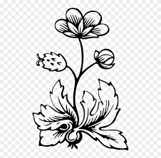 fl design flower leaf drawing free