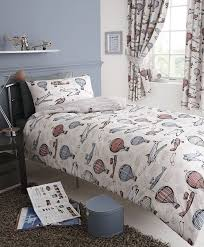 Best 25+ Double bedding sets ideas on Pinterest | Kids double bed ... & Aviation aeroplane air balloon kids double bed duvet quilt cover bedding  set new Adamdwight.com