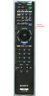 sony tv old models. all sony remotes have a display button, and the information box that pops up will tell you if signal coming from your cable is 480i or 1080i. tv old models 4