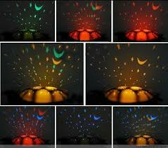 turtle night sky sleep lamp lampu tidur proyr kura bulan bin