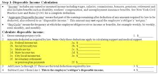 Paycheck Calculator New York Nys Dcss Income Withholding Worksheet