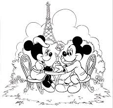 Small Picture Mickey minnie mouse coloring pages in paris ColoringStar