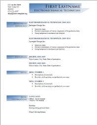 Microsoft Office Resume Templates 2014