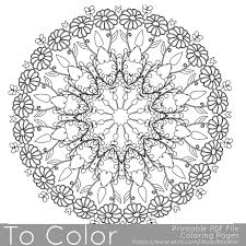 Intricate Printable Coloring Pages For Adults