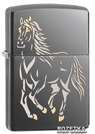 ROZETKA | <b>Зажигалка Zippo Running</b> Horse (28645). Цена, купить ...