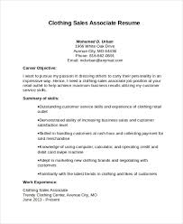 Sales Associate Resume Sales Associate Resume Template 8 Free Word Pdf Document