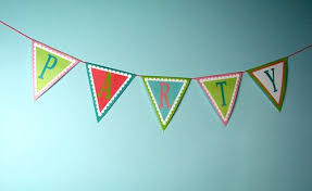 Free Pennant Banner Clipart Downloadable Pdf To Make A