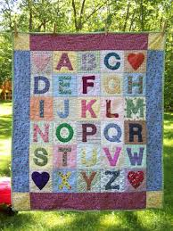 101 best Children's Alphabet Quilts images on Pinterest   Patterns ... & Sweet ABC quilt for kids. From:When Life Gives You Scraps, Make Quilts! Adamdwight.com