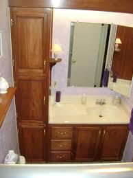 vanity small bathroom vanities: modern espresso wooden corner bathroom cabinet with marble counter gallery of top and faucet in marvelous