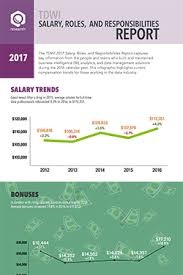 Salary Report Infographic 2017 Salary Roles And Responsibilities Report
