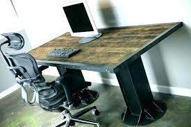 Industrial office chair Industrial Study Industrial Office Chair Desk Custom Made Desks Cool Trendy Modern Rustic Travelinsurancedotaucom Industrial Office Chair Desk Custom Made Desks Cool Trendy Modern