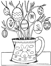 Small Picture Easter Basket Coloring Pages Easter Basket Coloring Page For Kids