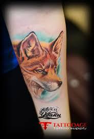 татуировка лиса тату салон юрец удалец философия тату