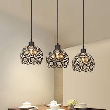 mesmerizing crystal hanging lights crystal pendant light for