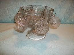sweet miniature glass punch bowl set child size 289925902