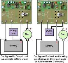 wind turbine charge controller reuk co uk configuring dc regulator for either dump load or diversion mode