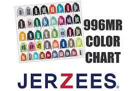 Hoodie Colour Chart Jerzees 996mr Hoodie Sweatshirt Color Chart
