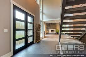 modern wood exterior doors. custom wood front entry doors - modern double door, insulated privacy glass, exterior