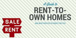 Rent To Own Homes: A Buyer's Guide To The Lease Option